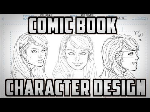Comic Book Character Design