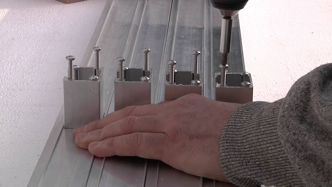 Großartig Blauform TRIAS Terrassen Aluminium Unterkonstruktion - YouTube DW87