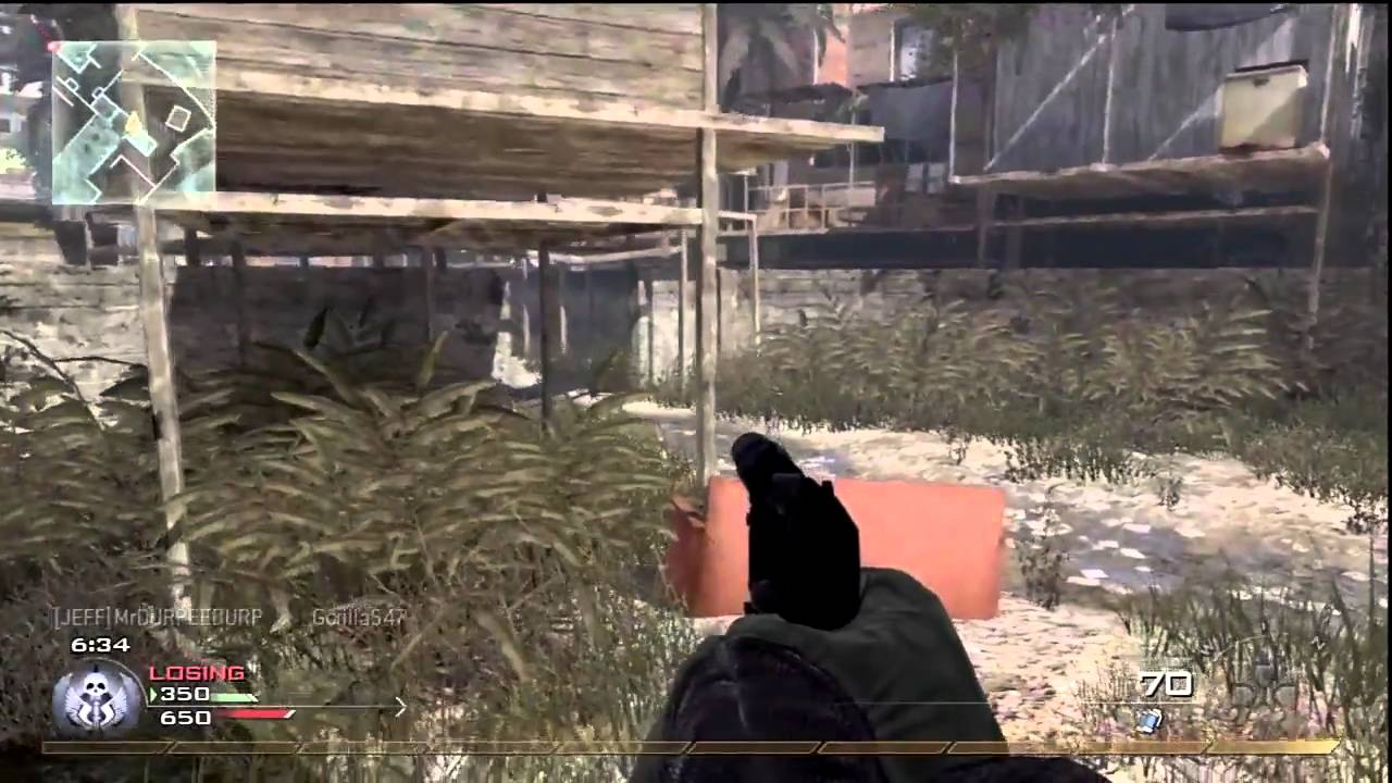 MW2 Pistol Only Nuke w/USP-45 Free For All