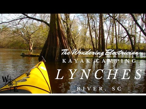 Kayak Camping Lynches River SC (2018)