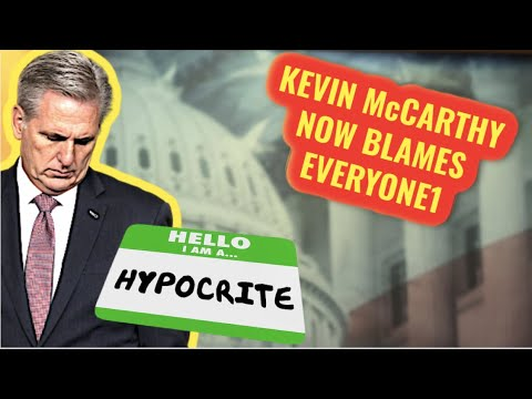 WUT! Kevin McCarthy now claims everyone is to blame for Trumps fruit case fans