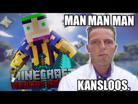 Minecraft - The Hungergames 624 MEEST KANSLOZE CHALLENGE..
