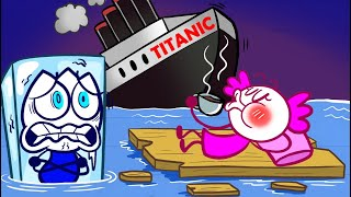 WEIRD CRUISE | Max Saved The Royal Titatic | Max's Puppy Dog Funny Animation