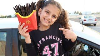 سوار و وجبة ماكدونالدز السحرية !! Magic McDonald's Happy Meal | شفا ووجبة ماكدونالدز