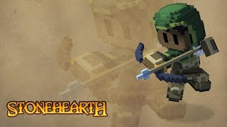 Stonehearth Gameplay Impressions 2017! - #7 Defending From Wolves!