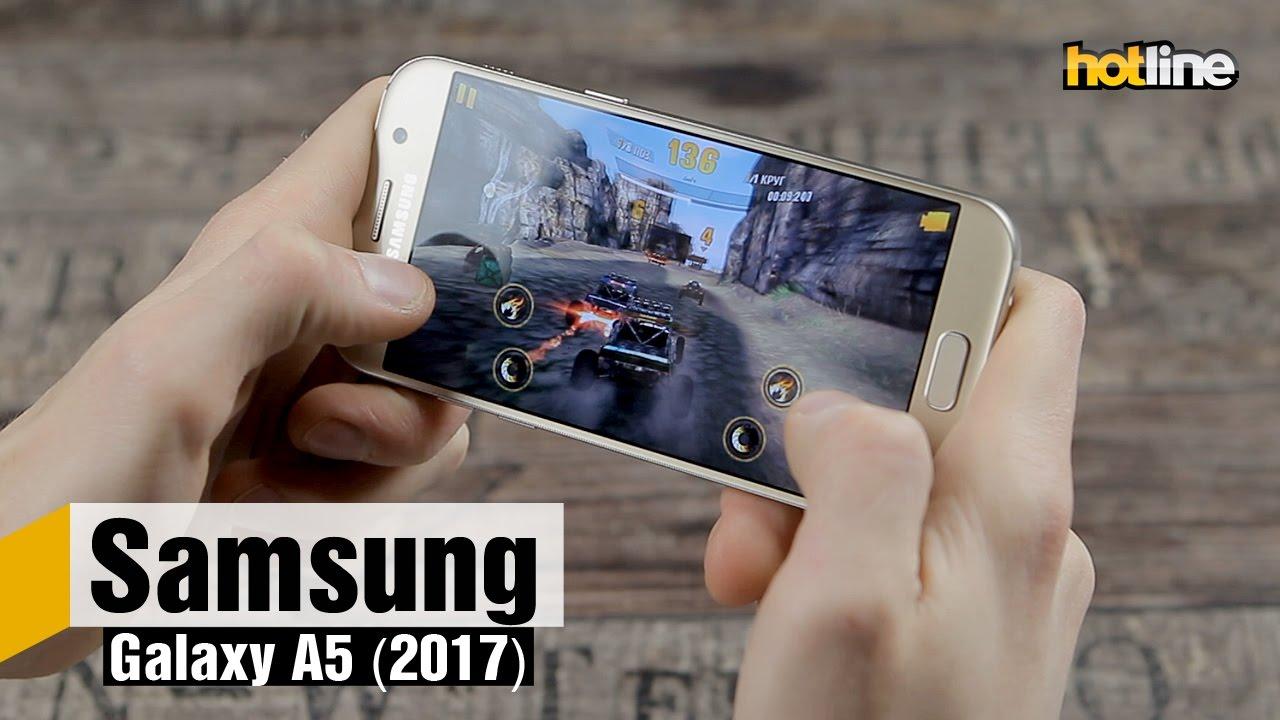 Обзор Samsung Galaxy A5 (2016) - YouTube