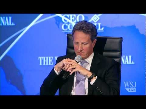 Timothy Geithner on China