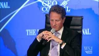 Timothy Geithner on China's New Leader