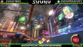 NEW NEO TOKYO ROCKET LEAGUE ARENA MAP!!! With Skunk HBNG