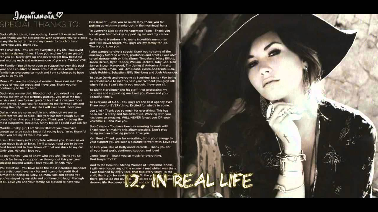 Demi Lovato Unbroken Full Album All Songs And All Photos