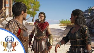 Assassin's Creed Odyssey Gameplay - Trouble in Paradise Quest (Exclusive E3 Hands On)