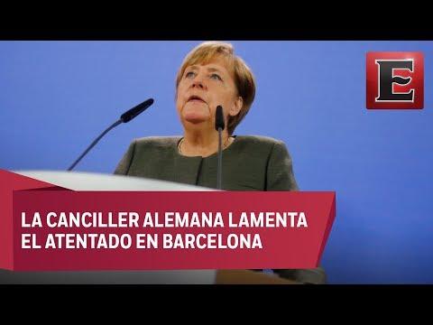 El terrorismo no nos vencerá jamás, sentencia Angela Merkel