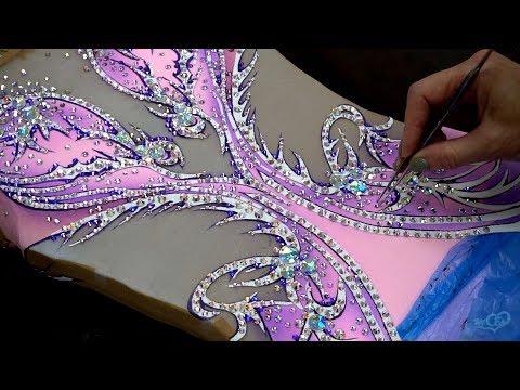 Работа с кристаллами холодной фиксации