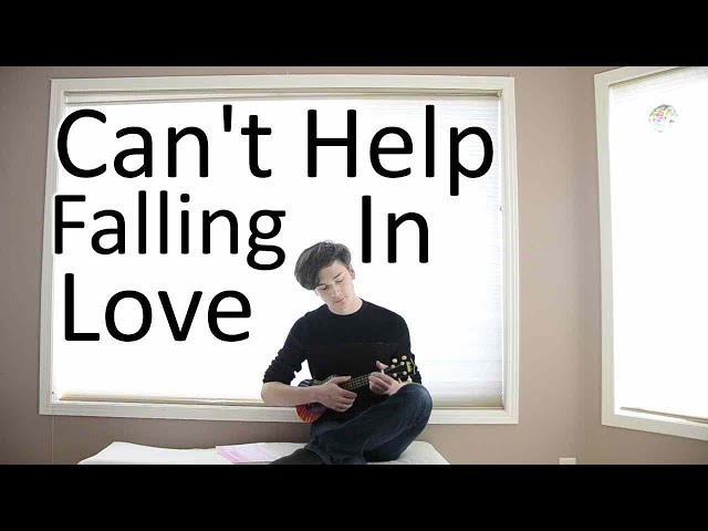 Cant Help Falling In Love - Ukulele