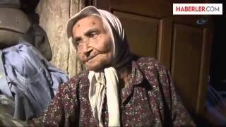 Yaşlı Kadın Kocasının Vasiyeti Nedeniyle, 30 Yıldır Mağarada Yaşıyor | Son Ajans|