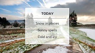 Sunday afternoon forecast 24/01/21