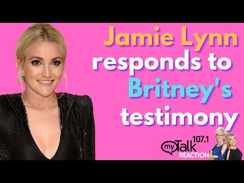 Jamie Lynn Responds to Britney's Testimony - Lori & Julia Reaction