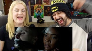 BREAKING IN - Official TRAILER REACTION & REVIEW!!!
