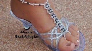 Elegant Beaded Barefoot Sandal Anklet Tutorial