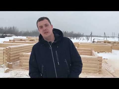 Вологодские срубы от производителя Стройдом35, г. Вологда