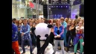 FLASH MOB Psy - Gangnam Style : Rozruszajmy Kielce przed koncertem Video w Galerii Korona