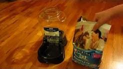 Petco / Petmate Gravity Feeder Part 2 - Pet Food Demo