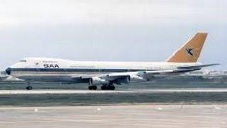 【衝撃】 航空機からの遭難信号その29 南アフリカ航空295便墜落事故