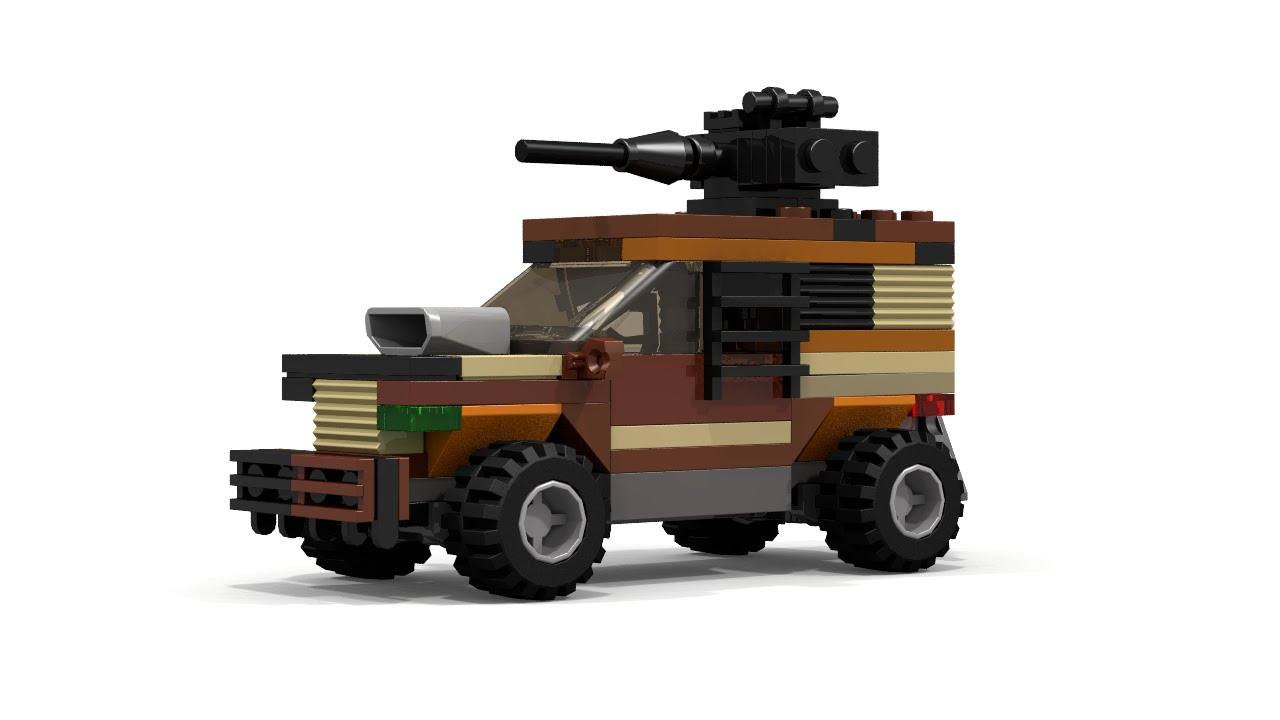 lego mad max instructions