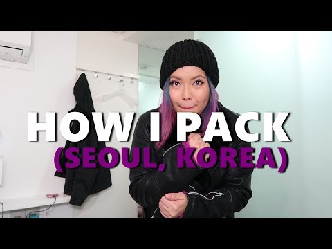 HOW I PACK FOR TRAVEL (SEOUL, KOREA) - saytioco