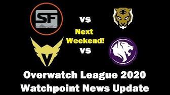 Shock vs Dynasty & Battle of LA Next Weekend! | Overwatch League 2020 Watchpoint News Update