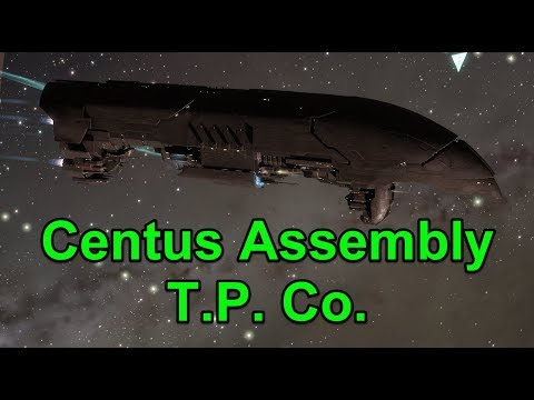 600m ISK Haul Centus Assembly T.P. Co. with Paladin - EVE Online Live Presented in 4k