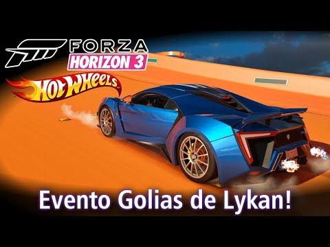 Evento Golias de Lykan HyperSport de 3.5 MILHÕES! Final da Expansão Hot Wheels! | Forza Horizon 3