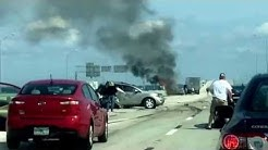 Fatal car crash on the buckman bridge