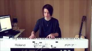Joel Sandberg - Scary Monsters And Nice Sprites (Skrillex) Piano Cover + Free Download Link