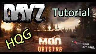» Dayz Origins - Tutorial - How to Play « | HQG Server | Mukka