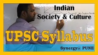 Indian Society and Culture important lecture @Synergy Study Point