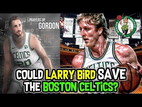 Could Larry Bird SAVE The 2017-2018 Boston Celtics NBA Season?