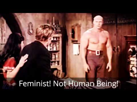 Feminist Agenda: A Social Justice Warriors wet dream. Mind Control, and Life Control of a man.
