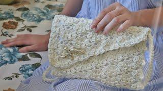 Сумочка - Клатч крючком 👜 Crochet Clutch