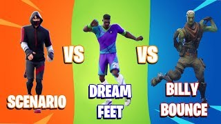 SCENARIO vs DREAM FEET vs BILLY BOUNCE (Dance, Real Life, Perfect Timing)