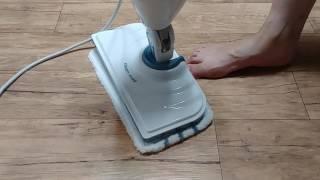블랙앤데커 스팀맙 스팀 청소기 작동 영상 | 이쁜이기린