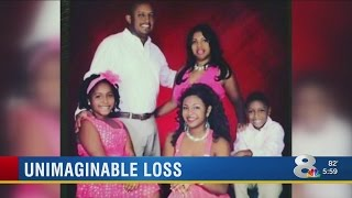 Man loses wife, daughter, son in crash