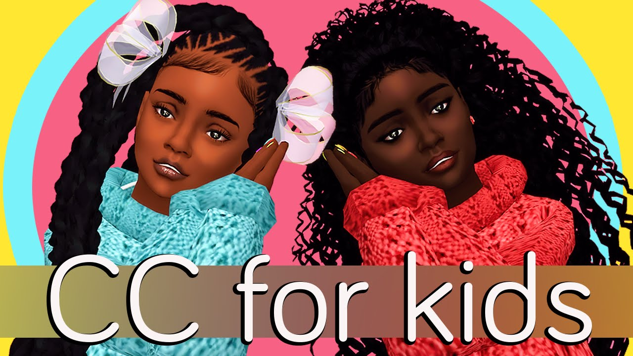 The Sims 4 Cc For Kids Full Cc Links Updated Youtube