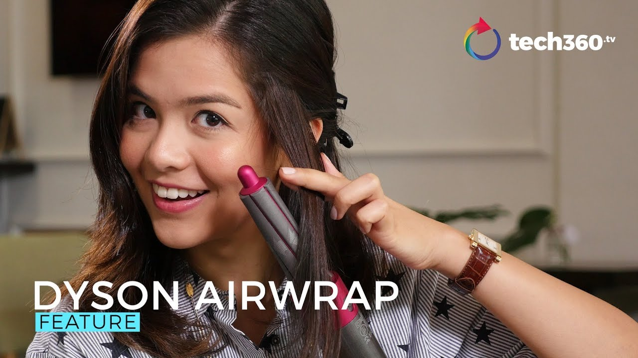 Hands On With The Dyson Airwrap Hair Styler Youtube