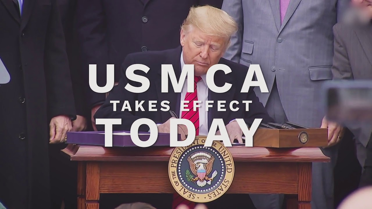 USMCA Takes Effect Today