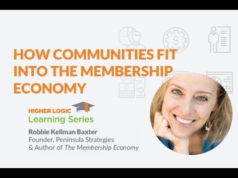 How Communities Fit Into the Membership Economy