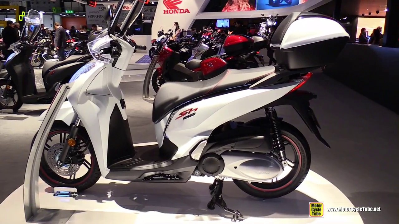 2017 honda sh300i scooter walkaround 2016 eicma milan. Black Bedroom Furniture Sets. Home Design Ideas