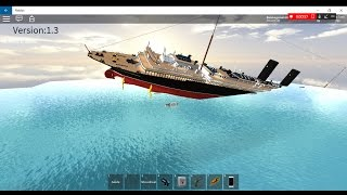 lusitania sinking fun on ROBLOX! :D