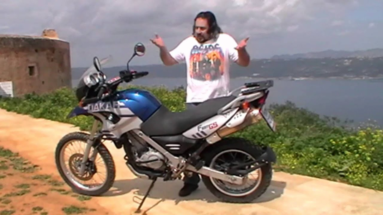 Bmw 650gs Dakar 2005 07 Kokkina Fegaria Test Youtube