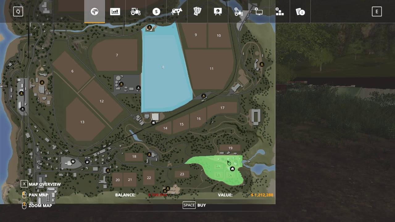 Farming Simulator 19 How To Buy Land Youtube